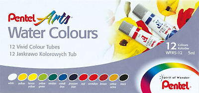 Paint Pentel Water Colours Tubes Pk12 ( Each )