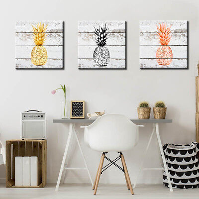 Modern Wall Art Canvas Painting Pineapple Fruit Bedroom Dining Room Decor Nice