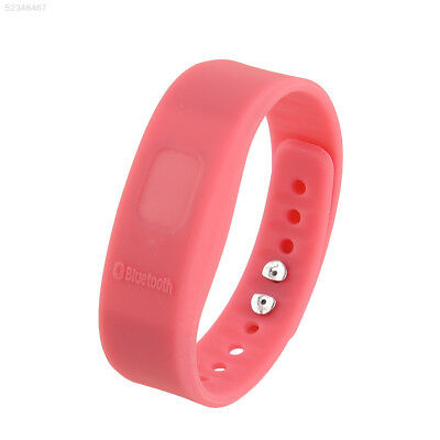 46A4 Bluetooth Incoming Call Anti-lost Ajustable Bracelet For Mobile Phone Pink