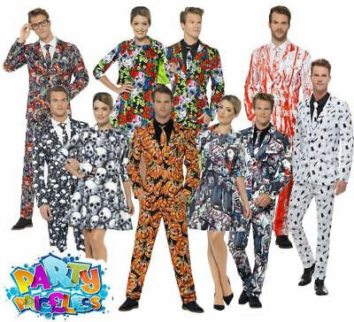 Halloween Stand Out Suit Mens Ladies Couples Costume Fancy Dress Womens Outfit
