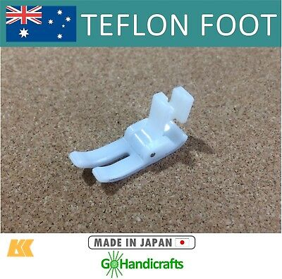 Teflon Presser Foot for Leather Vinyl Sewing Suits Most Domestic Sewing Machines