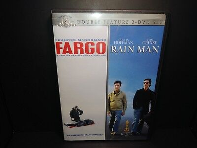 Fargo/Rain Man (DVD, 2007, 2-Disc Set) B170