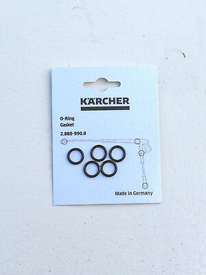 Pack of 5 Genuine Karcher Pressure Washer Lance Hose O-Ring Set  2.880-990.0