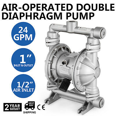 Air-Operated Double Diaphragm Pump Petroleum Fluids 24 GPM 1/2in. Air Inlet