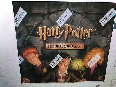 Harry Potter Adventures at Hogwarts Booster Box CCG Sealed WOTC 36 Pks FAST SHIP