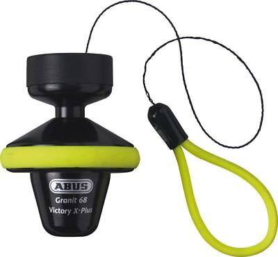 Abus Granit Victory 68 Gelb Roll Up Motorcycle Bike Ice Spray Tested Disc Lock