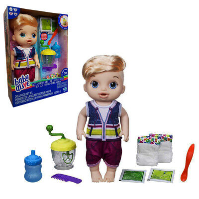 Baby Alive Sweet Spoonfuls Baby Boy Baby Doll Hasbro Toy