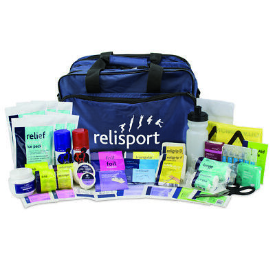 Relisport Olympic Large Sports Injury Run-On Touchline Team First Aid Kit Bag