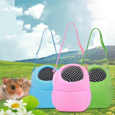 CN_ Hamster Cat Dog Small Pet Travel Zipper Packet Bag Breathable Mesh Pouch N