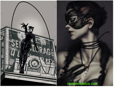 Catwoman #4 Foil Variant Joelle Jones & Artgerm Covers Set 2 Dc Comics (2018)