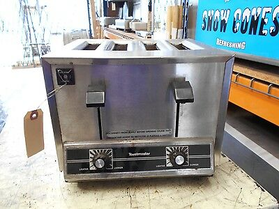 Toastmaster TP-44 Stainless Steel Commercial 4 Slice Toaster
