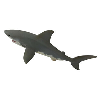 Ocean Creature Action Model Animal Education Cognitive Toy-Great White Shark