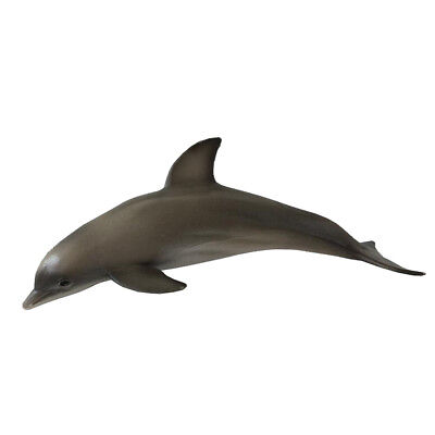 Realistic Sea Animal Figures Solid Plastic Toys Model - Dolphin
