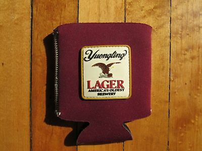 Lot Of two (2) Yuengling Trandiotal Lager Can Koozie Color Maroon Brand New