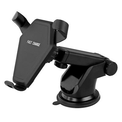 10W Qi Wireless Car Charger Fast Charging Stand Mount Holder For Samsung Note 8
