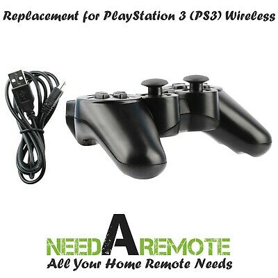 Black Wireless Bluetooth Game Controller Pad For Sony PS3 Playstation 3 P3