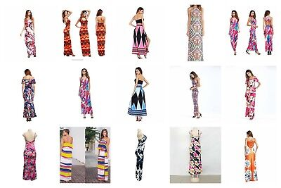 US SELLER- wholesale lot of 12 women's fashions maxi long dresses for women