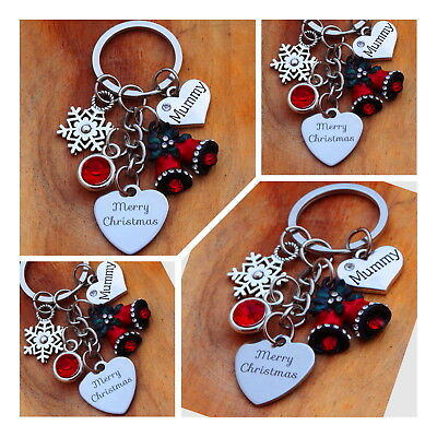 XMAS GIFT keyring for Mum Daughter sister Friend Best friend - Christmas Gifts