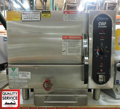 Winston SAH0P3GR Commercial CVap® 3-Pan Pressureless Boilerless Steamer