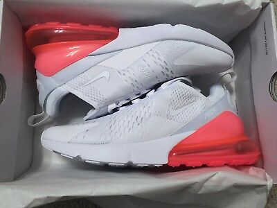 Nike Air Max 270 100% Authentic Size 10.5 New In Box Limited Edition Hot Punch