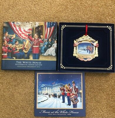 2010 White House Christmas Ornament New In Box