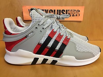 online store 6db2d 815fa ADIDAS X OVERKILL EQT Support ADV Coat of Arms Grey Red Black BY2939 LIMITED