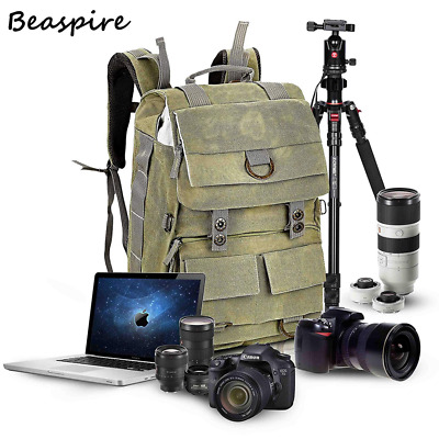 14-inch Laptop Camera Backpack Professional Hiking and Travel Bag with Dividers