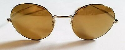 7dc4995135645 Authentic Paul Smith Sunglasses Clarefield Gold   Gold Mirrored PM4072S  5035 W4