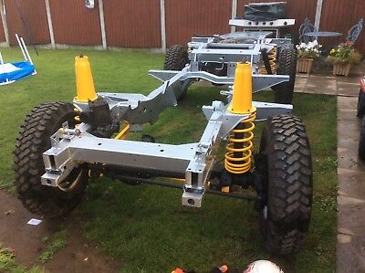 Land Rover defender 110 Rolling chassis