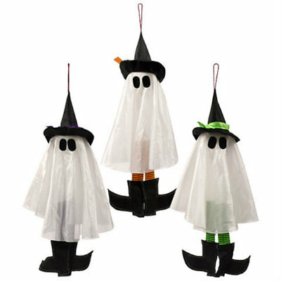 "Halloween Decorations Scary 24"" Hanging Witch Ghost ~ Assorted (Qty 1) Random"