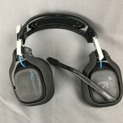 ASTRO Gaming A50 Wireless Dolby Gaming Headset - Black/Blue - PlayStation 4 + PC
