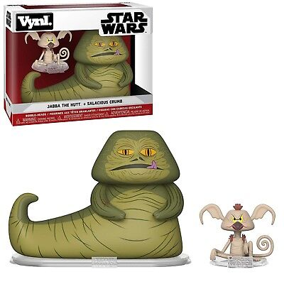 Funko Star Wars Vynl Jabba The Hutt Salacious Crumb Figure Set NEW IN STOCK