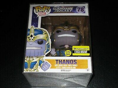 "POP! Marvel Thanos Glow In The Dark Guardians Of The Galaxy  6"" Vinyl Figure"