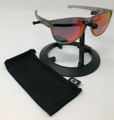 5d7c53aede Oakley Sliver Round Gray Ink Matte Torch Iridium Polarized Sunglasses