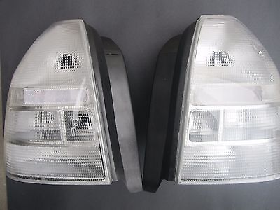 1996 1997 1998 1999 2000 Honda Civic EK Clear Taillight Lenses Pair 3DR