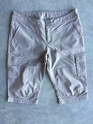KATHMANDU Women's Hiking Beige Shorts/pants Size 12 Excellent Condition
