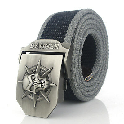 Men Belt Buckle Tactical  Heavy Duty  Soldier Waistband Tactical Combat Army