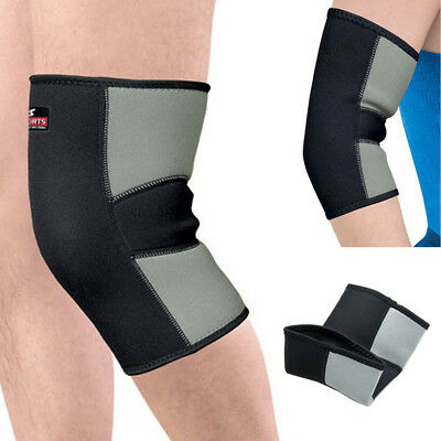 Outdoor Sports Black Elastic Knee Brace Support Guard Comfortable Protector Pad