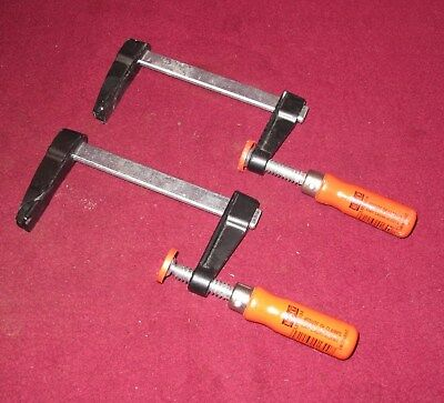 2 Bessey Small Woodworking Clamps Lm2 004 Light Duty 4 Bar Clamps