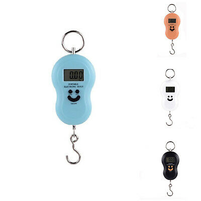 Weight Scale Pocket Portable Digital Electronic Hook Luggage Hanging Handheld