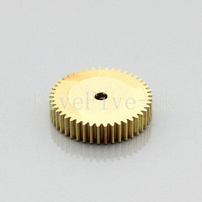 0.5M45T 3-12mm Bore Hole 45 Teeth Width 5mm Module 0.5  Motor Metal Spur Gear
