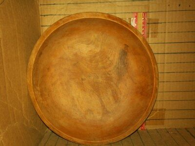 Vintage WOODPECKER Wood Bowl