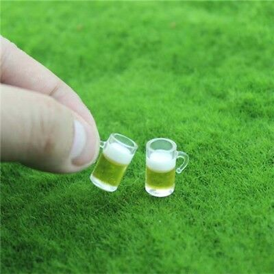 Miniature Bottled Beer Cup 1/6 1/12 Scale Model Home Decor UK