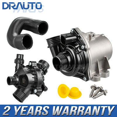 Electric Water Pump Bolts Thermostat Pipe Assembly For BMW X3 X5 X6 Z4 335i 435i
