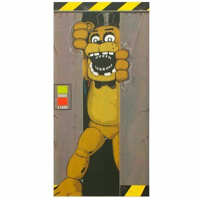 Five Nights at Freddy's Freddy Fazbear Door Cover