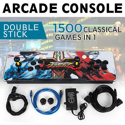 1500 In 1 Retro Video Games Arcade Console Pandora Box 9S Gamepad Double Players