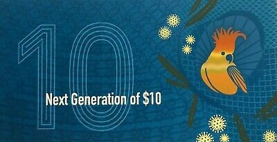 Australian Mint 2017 Commemorative $10 Folder Next Generation L&F Polymer issue