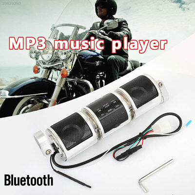 B2BE DC12V 1A Motorcycle Speaker Radio MP3 Player Durable Bluetooth Speaker