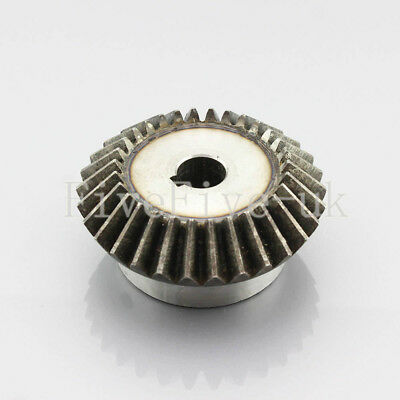 2.5M30T Metal Umbrella Tooth Bevel Gear Helical Motor Gear 30 Tooth 15-35mm Bore