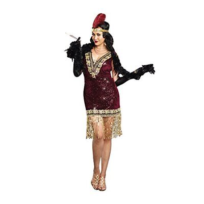 Dreamgirl Women's Plus-Size Sophisticated Lady 1920s Flapper Party Costume,